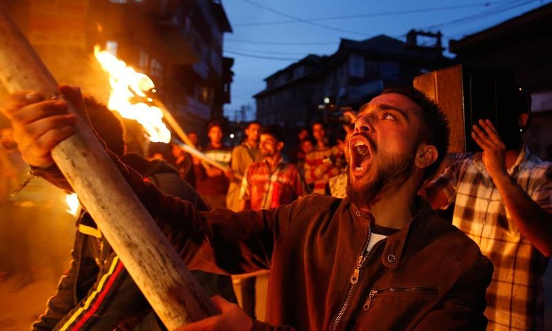 The pursuit of Kashmir