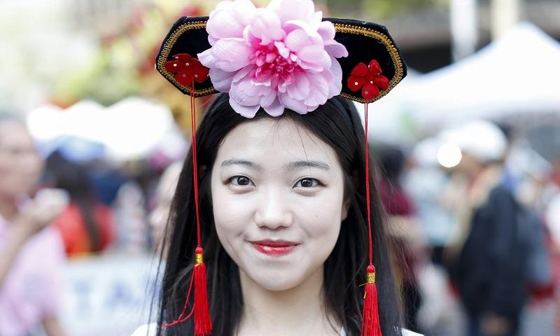 چینی قمری سال کا شاندار جشن