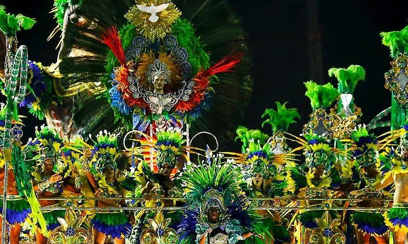 Dazzling Rio carnival climax gives Brazilians reason to smile