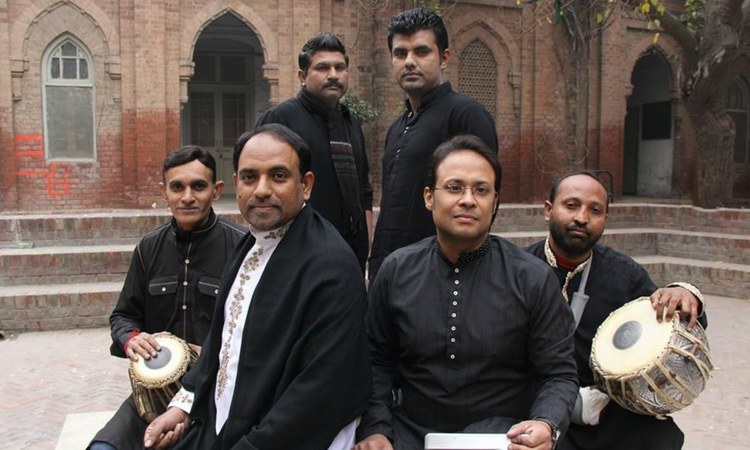 Dr Zafar heads a eight-member Sufi band called Marifat that has performed all over the world at Sufi festivals, like the Fes Festival of World Sacred Music (video below) - Photo courtesy Facebook