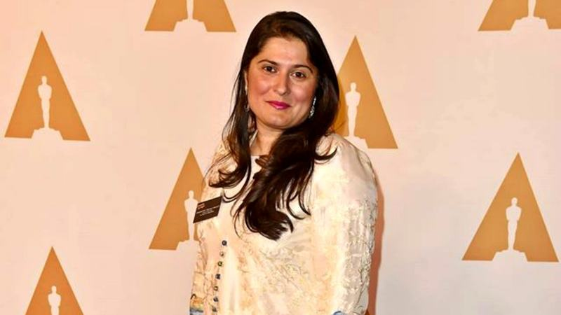 The Oscar-winning filmmaker on her motivations and how A Girl in the River could help end honour killing in Pakistan - Photo courtesy Sharmeen Obaid's official Facebook page