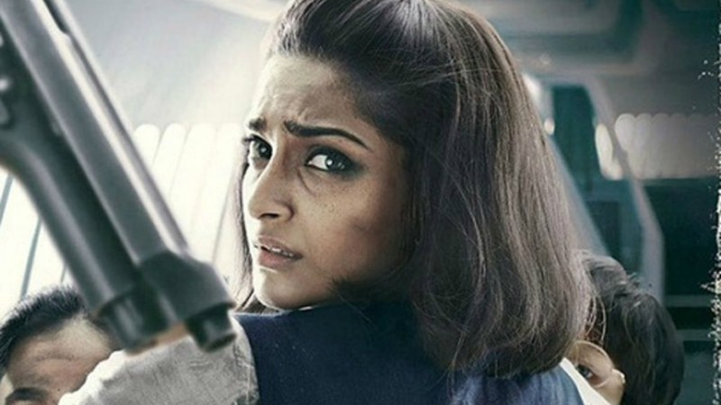 The movie is about the life of slain flight attendant Neerja Bhanot, who sacrificed her life to save over 300 passengers