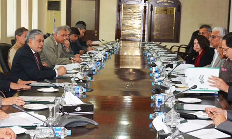 The meeting chaired by Minister of Finance Ishaq Dar ruled that Pakistan had welcomed the Joint Comprehensive Programme of Action (JCPOA) agreed between Iran and world powers.─ Photo: PID