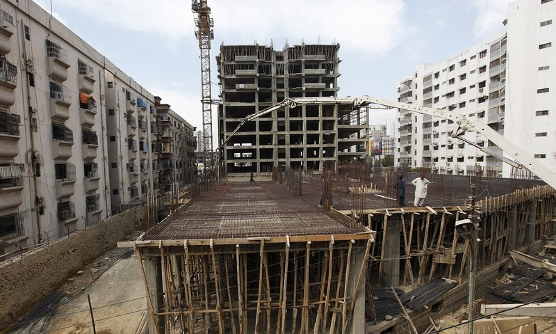 Karachi property prices soar after crime crackdown for Website building cost