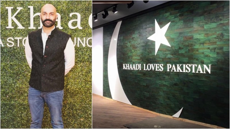 """""""It feels incredible to walk into the Khaadi megastore now and see it filled with customers. This is only the beginning, though,"""" promises Shamoon Sultan"""