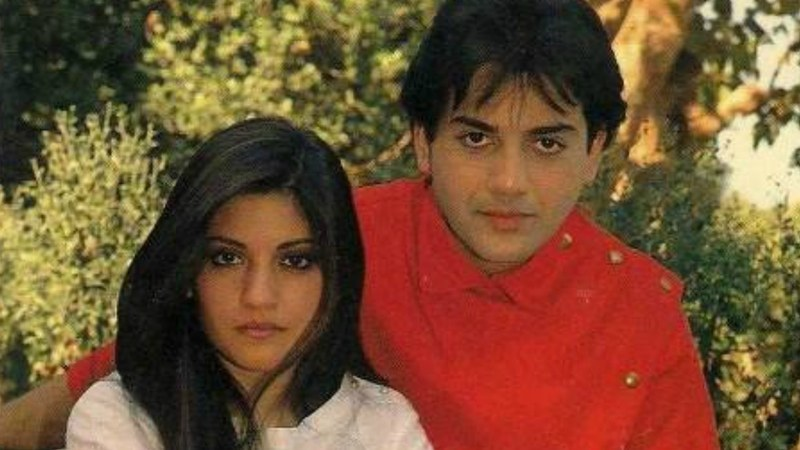 Their album, Disco Deewane, which went on to break all records at the time to become the highest selling Hindi/Urdu album with worldwide sales exceeding 65 million. —Photo courtesy: www.delcampe.net