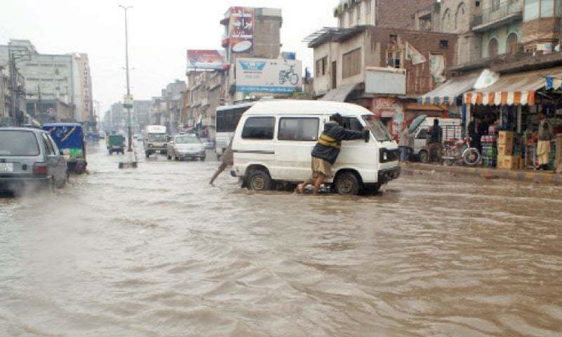 25 die as rains batter KP, Azad Kashmir