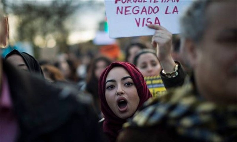 Several thousand people have gathered in Spain's northeastern port city of Barcelona to protest against what they say is Europe's racist and uncaring approach to migrants.─AP
