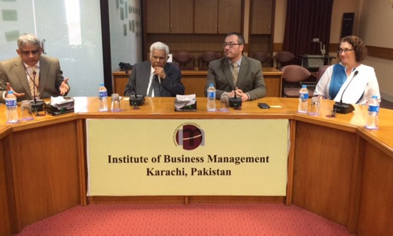 The agreement was signed at the institute's Entrepreneurship and Management Excellence Centre. Several students, faculty members and management were also present. ─ Photo by author.