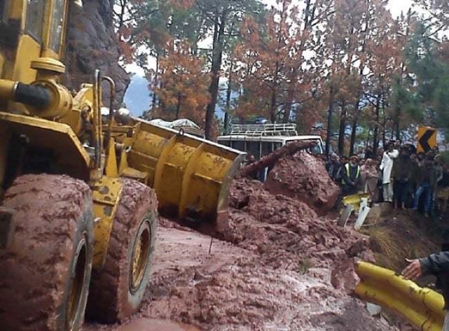 Rescue work hampered by continuing rain, landslides