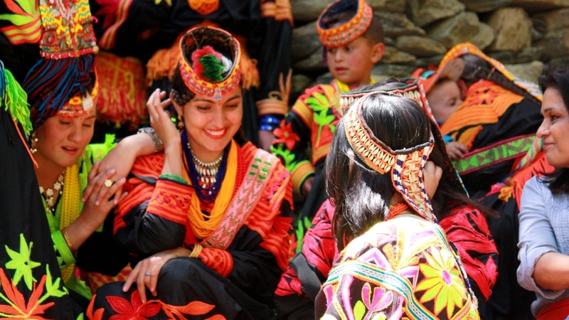 The Kalasha language of the Kalash people has written form, but others like Yadgha, Damel and Gawabati did not