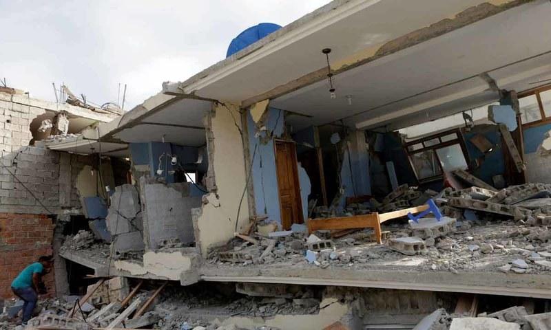 ایکواڈور : تباہ کن زلزلے کے بعد امدادی سرگرمیاں جاری