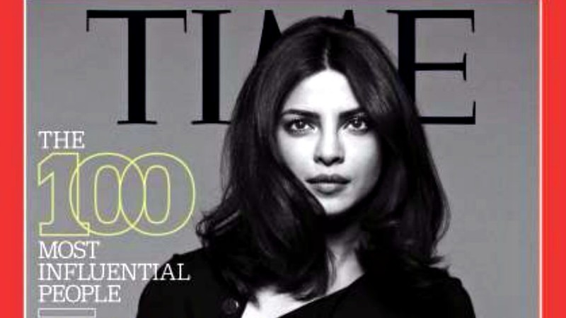 The Bollywood actress and tennis champ earned spots on Time's coveted annual list - and Priyanka made it to the cover!