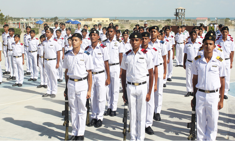 Most of the students at Cadet College Ormara are locals.