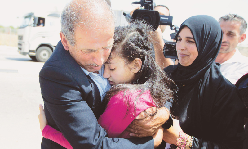 Israel frees 'youngest Palestinian' girl prisoner