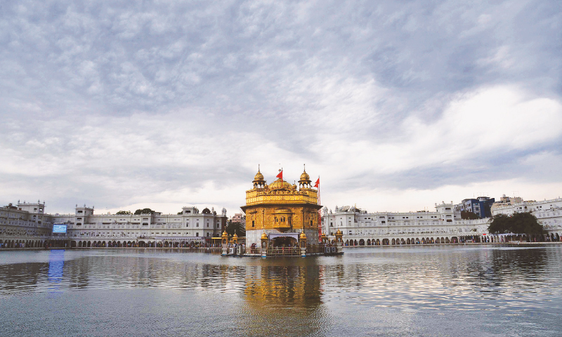 The Golden Temple. — Photo by AFP
