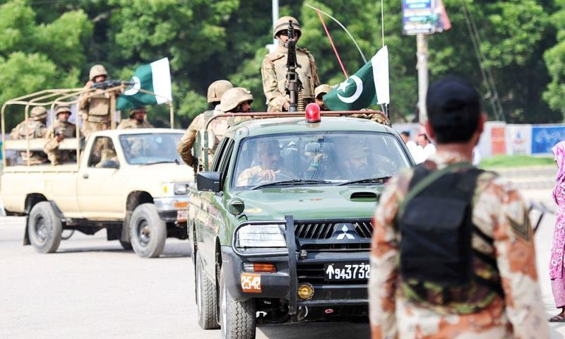 Army to stay in and outside polling stations for PK-8 polls today