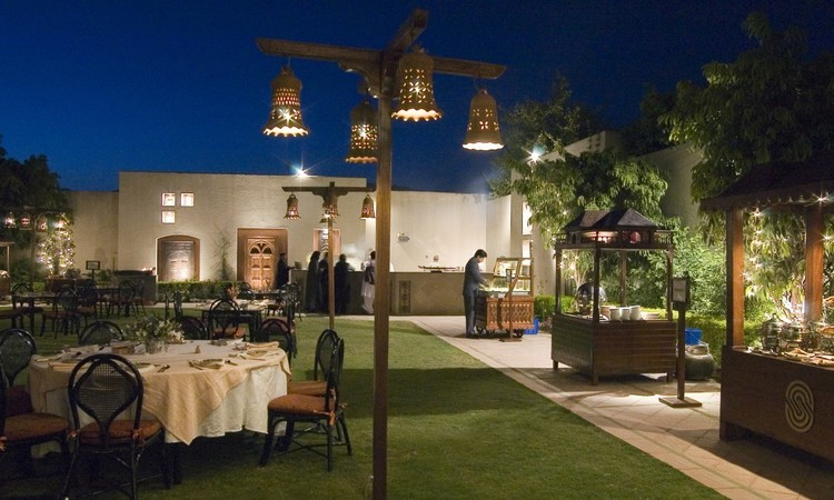 Baradari is a seasonal restaurant that opens its doors on summer nights at the pool-side gardens of Islamabad's Serena Hotel