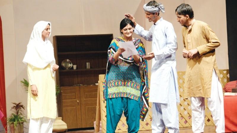 Umeed addressed the importance of education