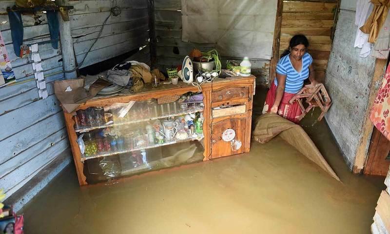 سری لنکا میں شدید بارشیں ، لاکھوں افراد متاثر