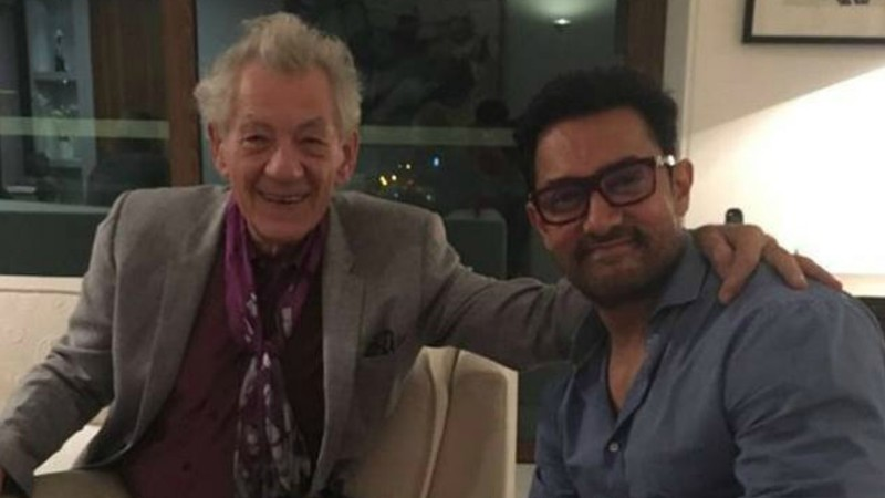 Awesome alert: Ian McKellen and Aamir Khan get together to talk Shakespeare