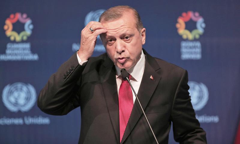 Erdogan says Turkey parliament will block EU migrant deal if no visa-free travel