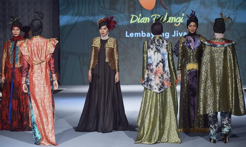 انڈونیشیا کا مسلم فیشن فیسٹیول