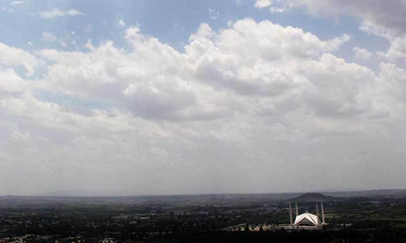 کبھی گرمی کبھی بارش، اسلام آباد کا بدلتا موسم