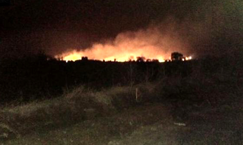 India army ammunition depot catches fire, 17 killed: reports
