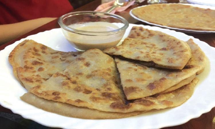 Paratha Lounge's specialty is qeema paratha and meetha paratha