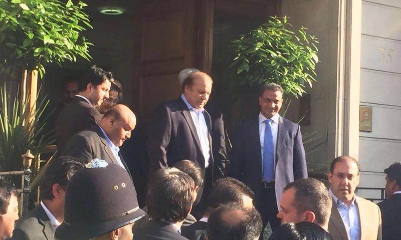 PM Nawaz discharged from hospital, moves to home in London