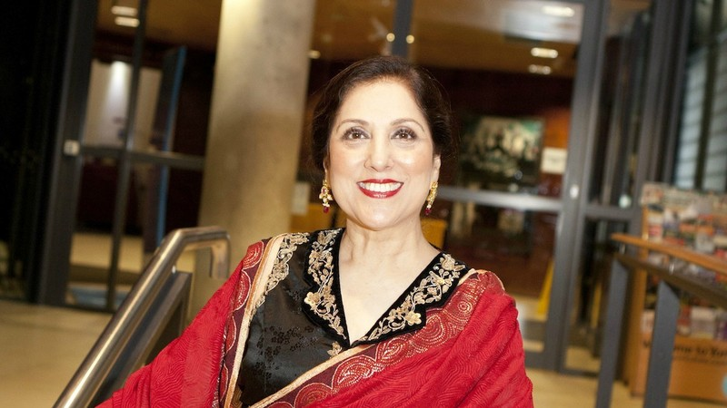 Peerzada played A Doll's House lead role Nora from in Karachi, Lahore and Oslo in 1992-1994 - Photo by Mark Davis