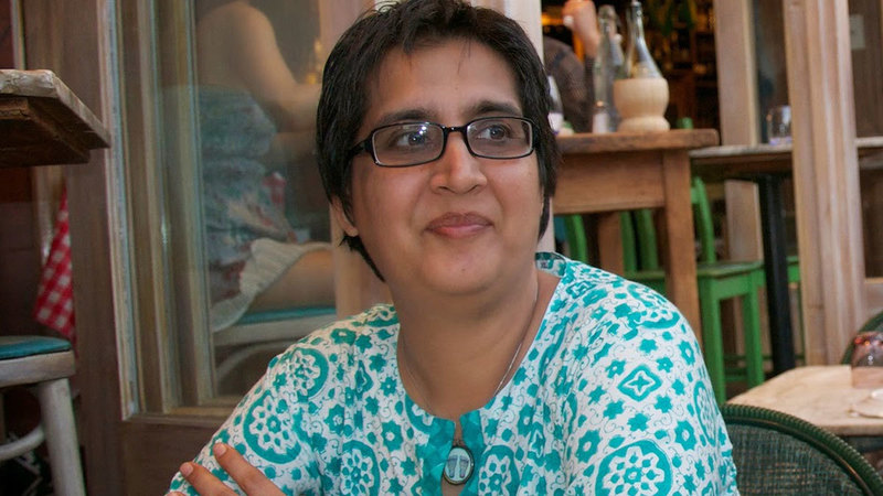 T2F's director Marvi Mazhar said they had decided to have an open mic night in memory of Sabeen Mahmud who was shot dead in April last year.