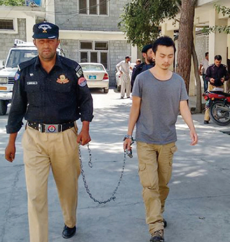 Chinese national gets nine-year jail  in arms smuggling case