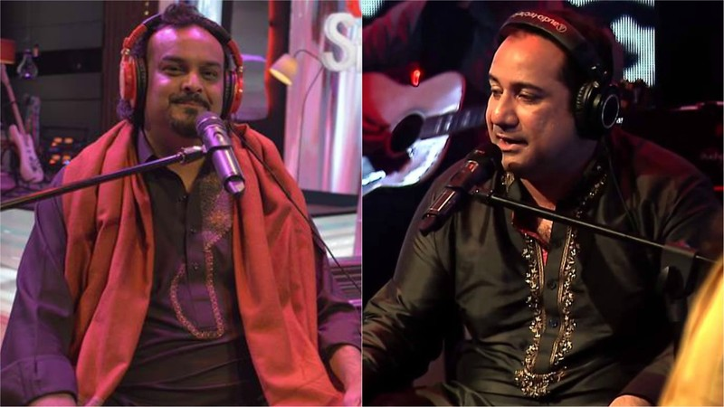 The two had collaborated recently to record Rang for Coke Studio's upcoming season