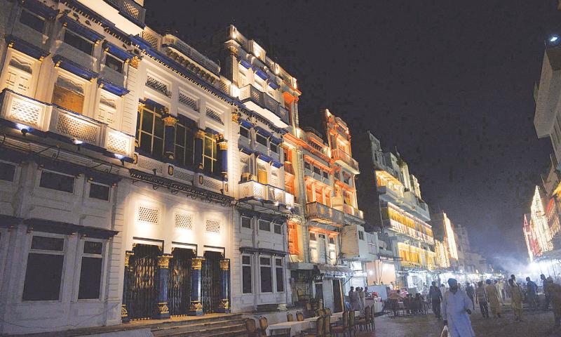 The Gawalmandi area in Lahore.  — Tariq Mahmood/White Star