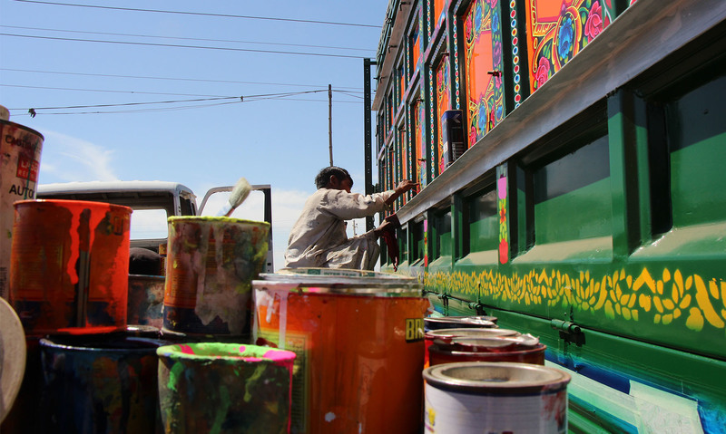 Seeking paradise: The image and reality of truck art