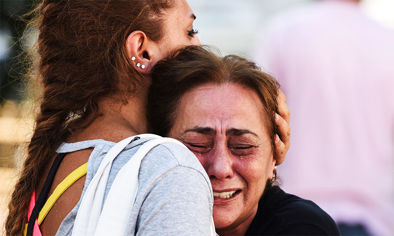 In pictures: the airport attack that shook Istanbul