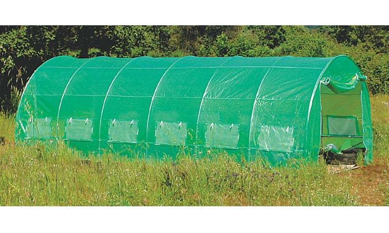 Polytunnels are becoming increasingly popular
