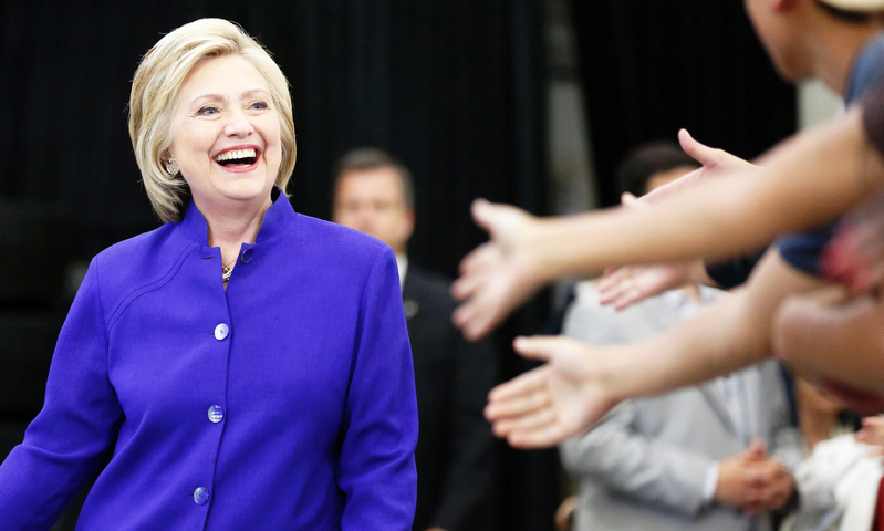 Hillary Clinton makes history as first female Democratic presidential nominee