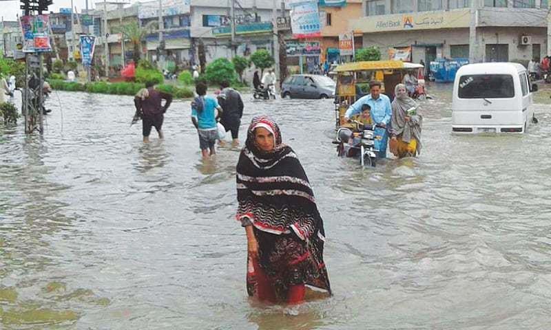 22 die as rain, floods batter KP, Punjab