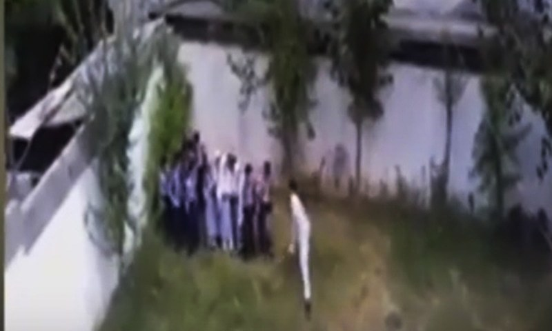 Video of Chitral students being beaten by teacher goes viral