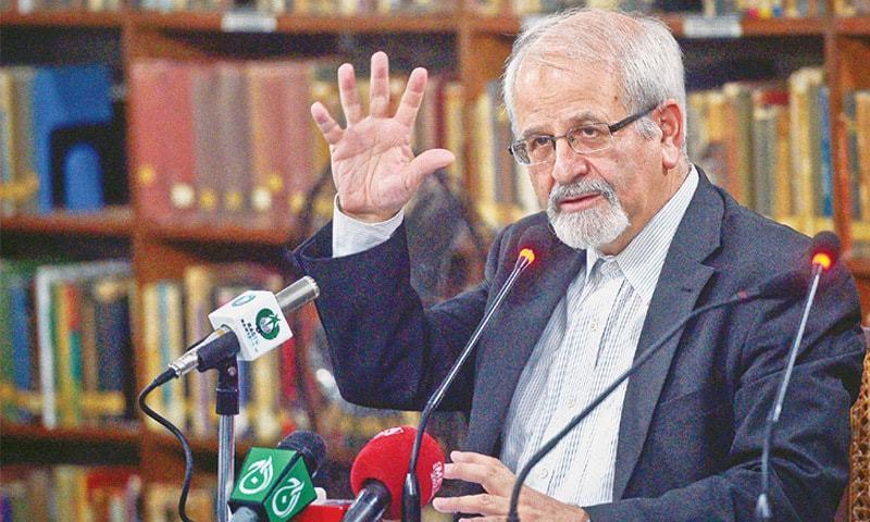 Dr Seyed Mohammad Kazem Sajjadpour.—White Star