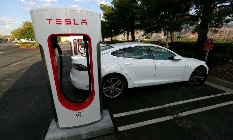 Speedy New Tesla Electric Car Boasts Range Topping Miles
