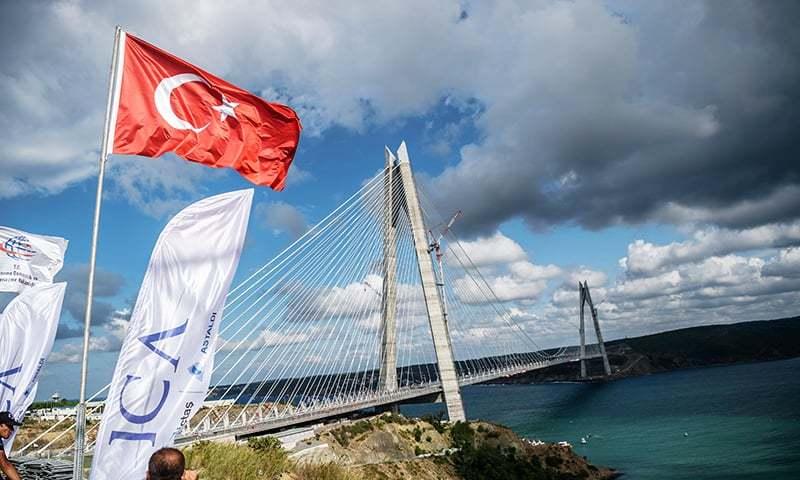 third bridge in istanbul The galata bridge (turkish:  (1861–1876) during the infrastructure improvement works prior to the visit of napoleon iii to istanbul the third bridge.