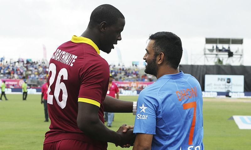 Record T20 run haul as Windies down India