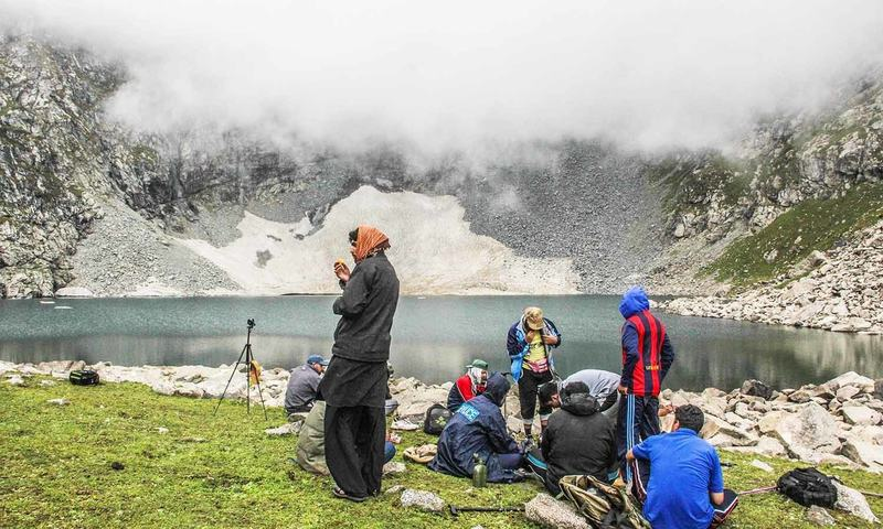 Bashigram Lake can be reached after five to seven hours of trekking from Kas village, Madyan.