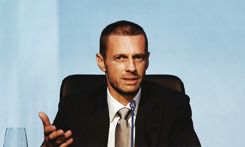 Uefa president: Aleksander Ceferin elected to succeed Michel Platini