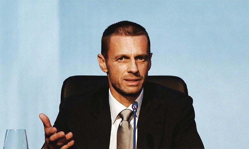 Uefa president: Aleksander Ceferin elected to succeed Michel Platini