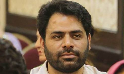 Khurram Parvez was due to speak  in a session of the United Nations' Human Rights Council about Kashmir.— Photo courtesy: Indian Express/Facebook
